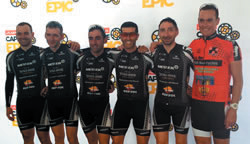 Equipo CANSA Tarraco 2015. FOTO: Sportograf