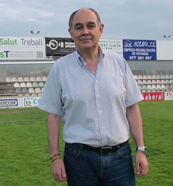 Alfred Arias, Team Coach de l'MBA-URV.