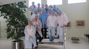ALUMNI MBA-URV a la visita a Plàstics Castellà.