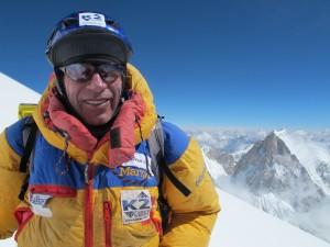 Òscar al camp 4 del K2, la vigília d'assolir el cim el 31 de julio de 2012 Foto: Khoo Swee Chiow