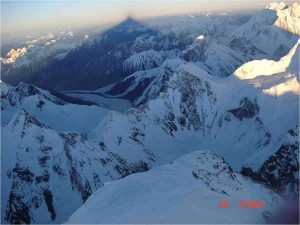 Cim del K2 a 8.611 m.